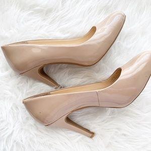 Jessica Simpson Heels Cream Caprielle 8.5M